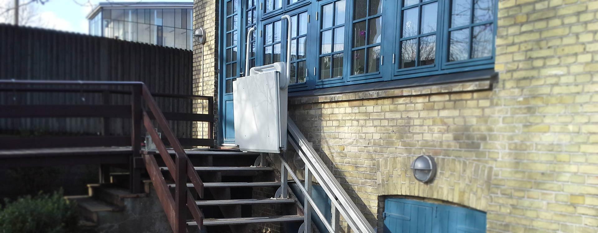 BC Lift på trappe